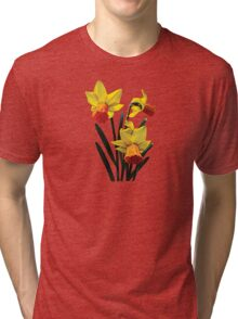 Three Daffodils Tri-blend T-Shirt