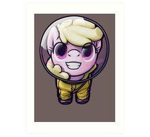 Hi! I'm [MORE OBNOXIOUS] Puppysmiles!  Art Print
