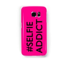#Selfie Addict Samsung Galaxy Case/Skin