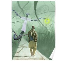 Pathan Wanderer on a Distant World Poster