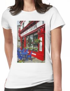 Knights Town Coffee Ireland Womens Fitted T-Shirt
