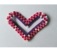 handmade heart Photographic Print