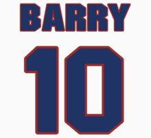 Basketball player Barry Clemens jersey 10 by imsport