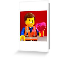 Emmet Valentines Greeting Card