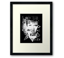 Sleaford Mods - The Rich Framed Print