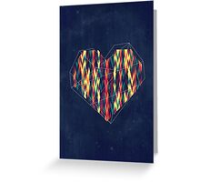 Interstellar Heart Greeting Card