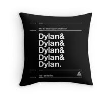 Best 5 Rappers Of All Time Throw Pillow
