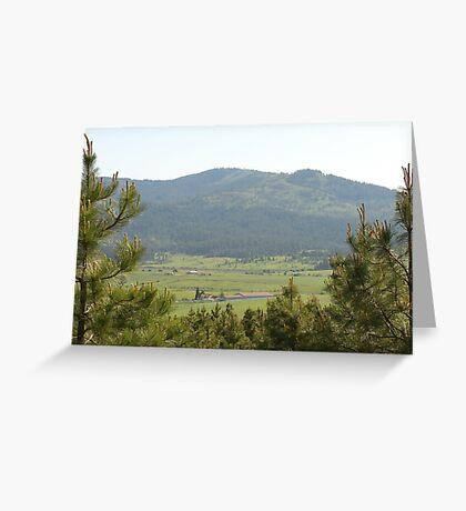 Mountain in Washington  Greeting Card