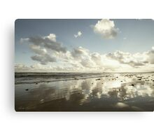 Earth delights to feel your bare feet Canvas Print