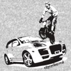 BMX versus SUV by citycycling