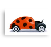 Lady beetle Canvas Print