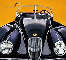 1954 Classic Jaguar XK 120 by Weshon  Hornsby