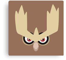 Noctowl Canvas Print