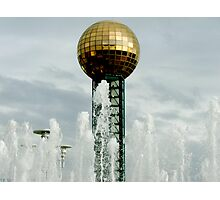 Sun Sphere Photographic Print