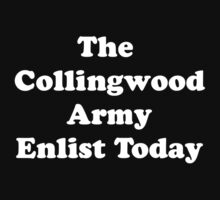 Collingwood Army by FootyTeeGuy