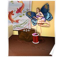 Sewing Fairy Poster