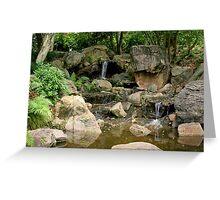 Waterfall, Waterfall... Greeting Card