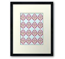 Damascus Pattern 1 Framed Print