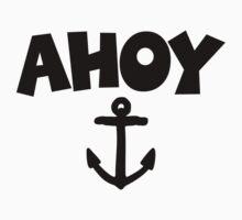 Ahoy Anchor Sailing Design One Piece - Long Sleeve