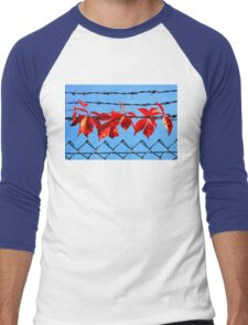 Vine wire Men's Baseball ¾ T-Shirt