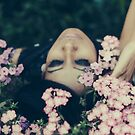 dreaming with flowers by Jessica  Lia