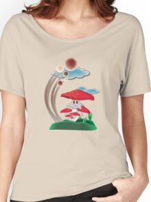 Red Mushie Women's Relaxed Fit T-Shirt