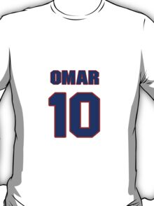 Basketball player Omar Cook jersey 10 T-Shirt