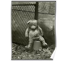 Neglected Teddy Poster