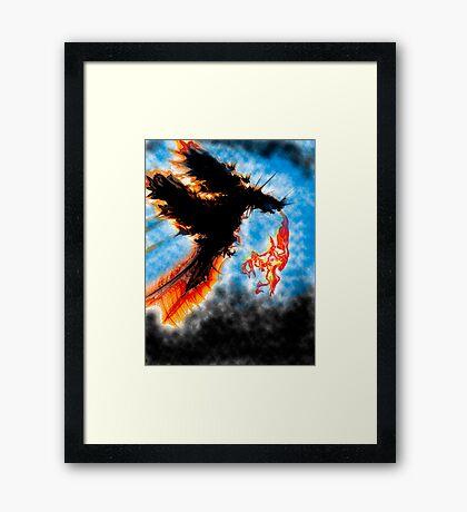 Dragons Breath Framed Print