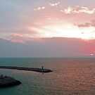 La Goulette Sunset by Tom Gomez