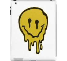 drippy face iPad Case/Skin