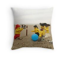 Pirate Soccer Throw Pillow