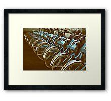 Cycle #3 Framed Print