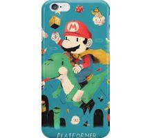 platformer iPhone Case/Skin