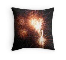 Fireworks Throw Pillow