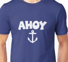 Ahoy Anchor Design Unisex T-Shirt