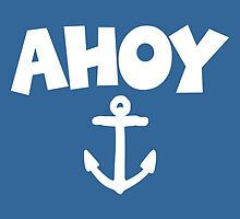 Ahoy Anchor Design by theshirtshops