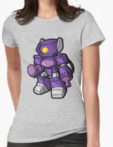 Lil Shocky Womens Fitted T-Shirt