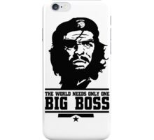 The World Needs only one Big Boss iPhone Case/Skin