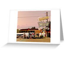 holiday motel Greeting Card