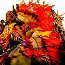 powwow by Bruce  Dickson
