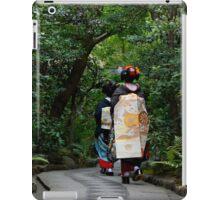 Green Path iPad Case/Skin
