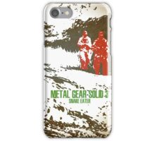 Metal Gear Solid 3: Snake Eater iPhone Case/Skin