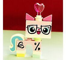 Bizniz Unikitty Valentines Photographic Print