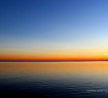 Evening View On Moriches Bay And Fire Island | Center Moriches, New York  by © Sophie W. Smith