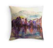 Purple Hues Throw Pillow