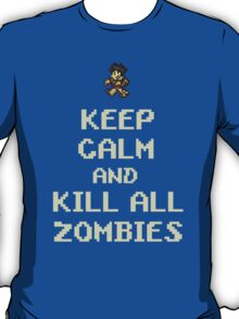 Terraria Keep Calm Zombies T-Shirt