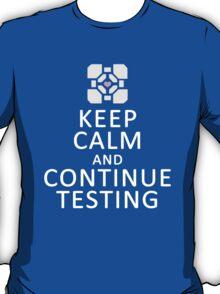 Keep Calm Portal T-Shirt