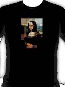 pixelated monalisa T-Shirt