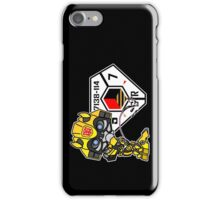 Bumblebee Peeing - Sector 7 v2 iPhone Case/Skin